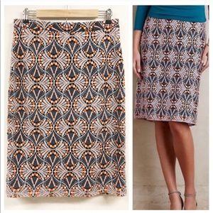Anthropologie Soeurs Svetla Lace Pencil Skirt
